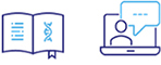 Genomic Resource Center icons