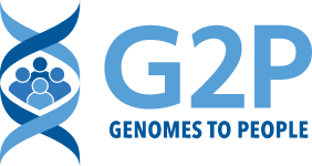 Genomes to People logo
