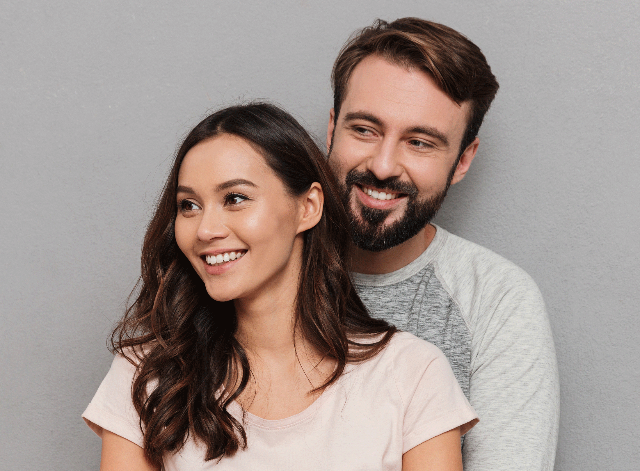 Young expecting couple